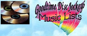 Goodtime DJ Music Lists